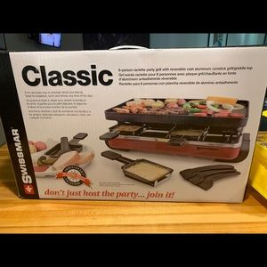 Swissmar raclette party grill
